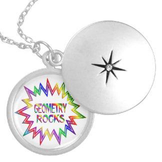 Geometry Rocks Locket Necklace