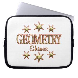 Geometry Shines Computer Sleeve