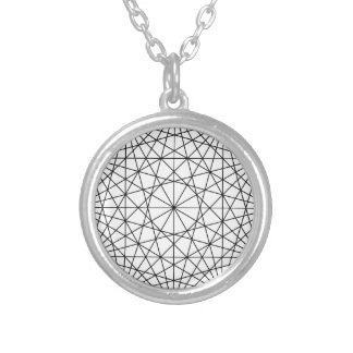 Geometry Silver Plated Necklace