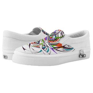 Geometry Slip On Shoes