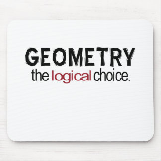 Geometry _ the logical choice mouse pads