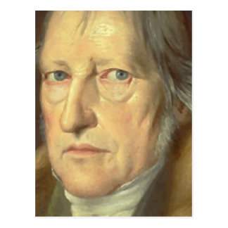 Georg Wilhelm Friedrich Hegel Postcard