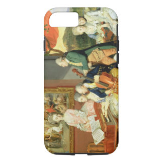 George, 3rd Earl Cowper, with the Family of Charle iPhone 7 Case
