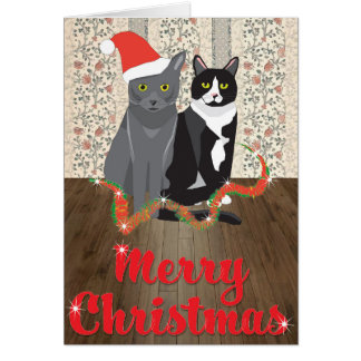 George and Lucas Christmas card