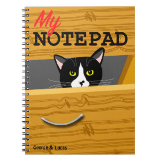 George and Lucas photo notepad Note Book
