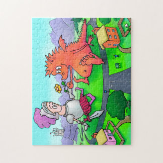 George and the Dragon Jigsaw Jigsaw Puzzle