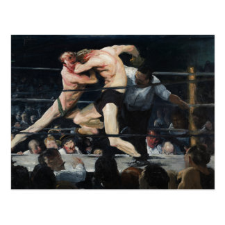 George Bellows Stag at Sharkey's Art of Boxing Postcard