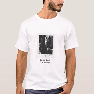 George Bush is a lizard. T-Shirt