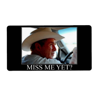 George Bush/Miss Me Yet?