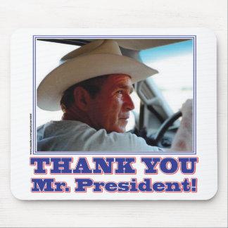 George Bush Thank you Mousepads