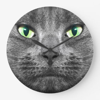 George cat clock
