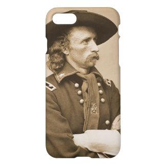 George Custer Vintage Military War Portrait iPhone 7 Case