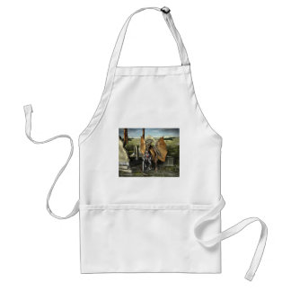 George & Dragon Apron