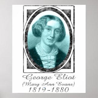 George Eliot Poster
