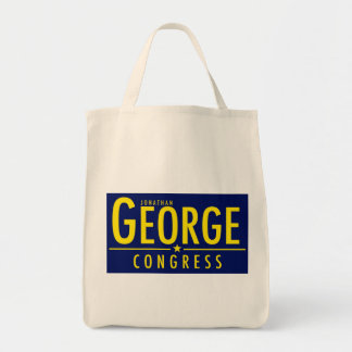 George for Congress Organic Grocery Bag
