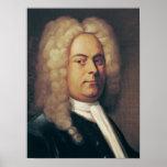 George Frederick Handel Poster