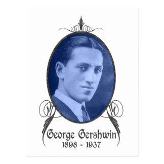 George Gershwin Postcard