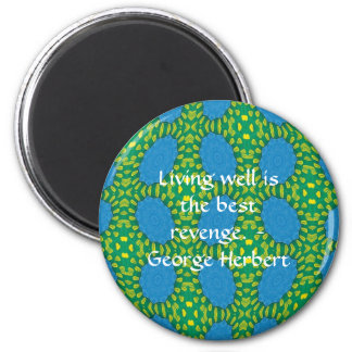 George Herbert Quote With Wonderful Design Magnet