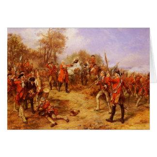 George II at Dettingen Card