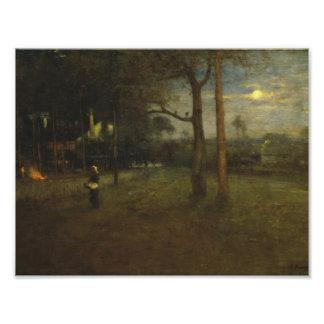 George Inness - Moonlight, Tarpon Springs Photo