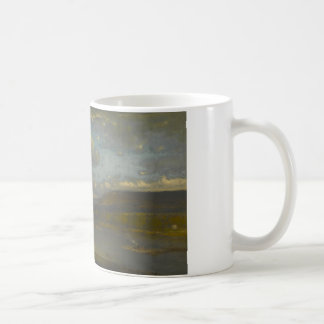 George Inness - On the Delaware River Coffee Mug