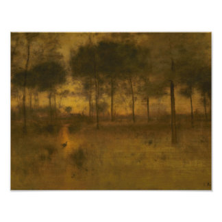George Inness - The Home of the Heron Photo
