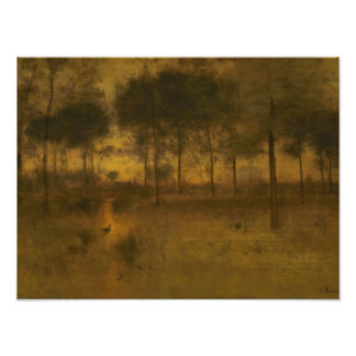 George Inness - The Home of the Heron Photo Art