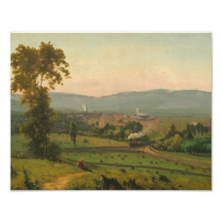George Inness - The Lackawanna Valley Photo Art