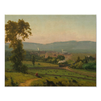 George Inness - The Lackawanna Valley Poster