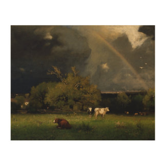 George Inness - The Rainbow Wood Canvases