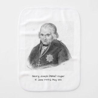 George Joseph (Abbe) Vogler Burp Cloth