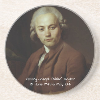 George Joseph (Abbe) Vogler Coaster
