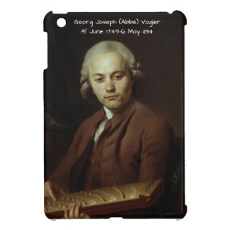 George Joseph (Abbe) Vogler iPad Mini Cases