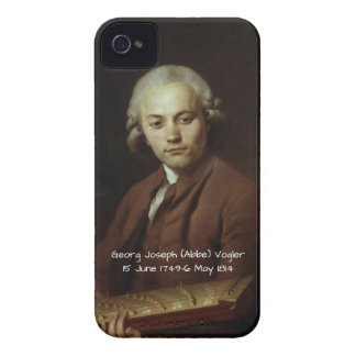 George Joseph (Abbe) Vogler iPhone 4 Cover