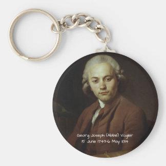 George Joseph (Abbe) Vogler Key Ring
