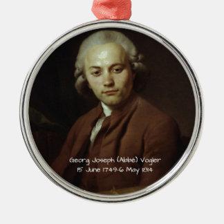 George Joseph (Abbe) Vogler Metal Ornament