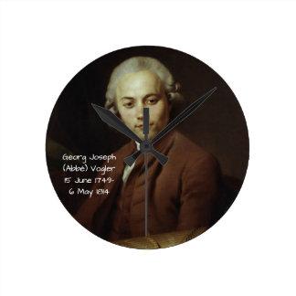 George Joseph (Abbe) Vogler Round Clock