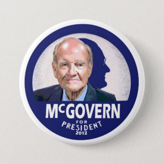 George McGovern for President 2012 7.5 Cm Round Badge