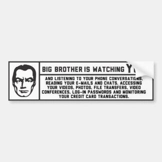 George Orwell 1984 Big Brother Sticker