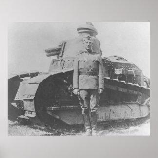George Patton During WW1 Print