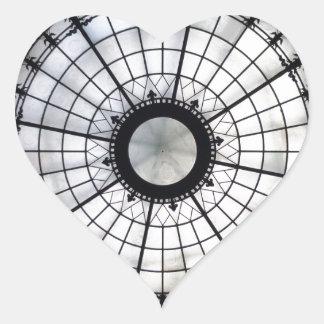 George Rogers Clark Memorial Heart Sticker