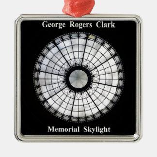 George Rogers Clark Memorial Metal Ornament