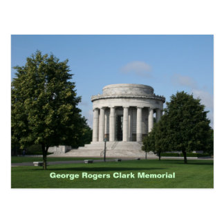 George Rogers Clark Memorial Postcard