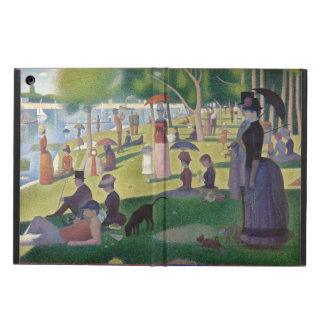 GEORGE SEURAT - A  sunday afternoon 1884 iPad Air Cover