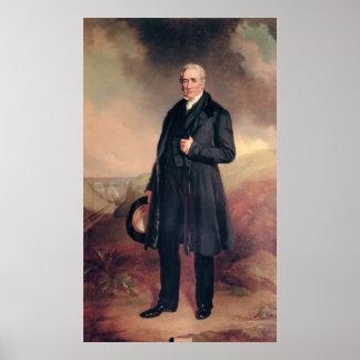 George Stephenson Poster