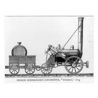 George Stephenson's Locomotive, 'Rocket', 1829 Postcard