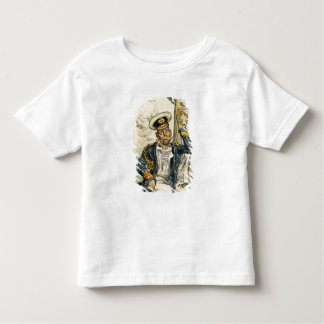 George V, 'The Simple' of the Royal Navy Toddler T-Shirt
