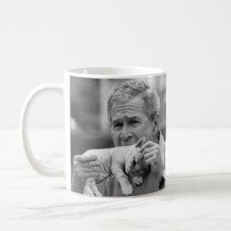 George W Bush Eating A Kitten Coffee Mug