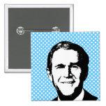 George W Bush Gear Button