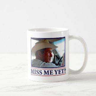 George W Bush Miss Me Yet Basic White Mug